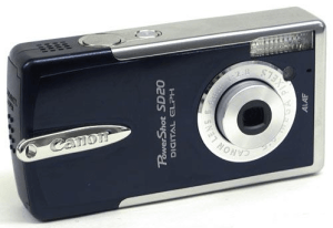 Canon PowerShot SD20 Manual for Canon's Simply Compact Camera