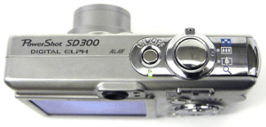 Canon PowerShot SD300 Manual for Canon's Metal Compact Camera
