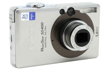 Canon PowerShot SD400 Manual User Guide and Specifications