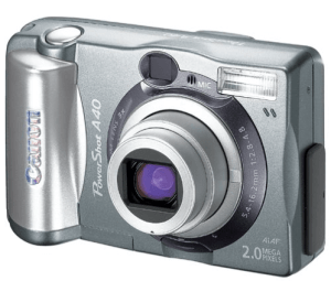 Canon PowerShot A40 Manual User Guide and Specification