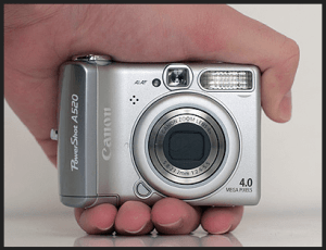 Canon PowerShot A510 Manual User Guide and Specification