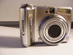 Canon PowerShot A570 IS User Manual and Detail Specification