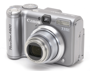 Canon PowerShot A620 Manual for Canon's 7MP Compact Camera with DIGIC II Processor