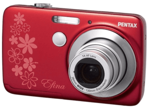 Pentax Efina Manual: a Manual for Pentax Womanly Camera Ever