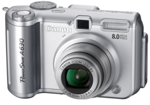 Canon PowerShot A630 Manual User Guide and Specification