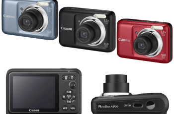 Canon PowerShot A800 Manual User Guide and Review