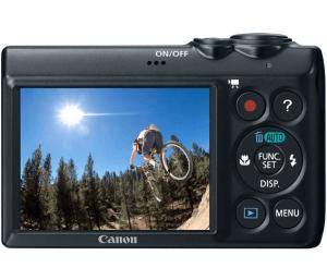 Canon PowerShot A810 Manual: Camera backside