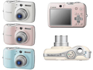 Canon PowerShot E1 Manual for Canon's Chick and Nice Compact