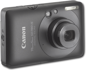 Canon PowerShot SD780 IS manual: camera backside