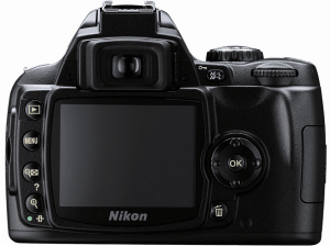 Nikon D40 Manual (camera backside)