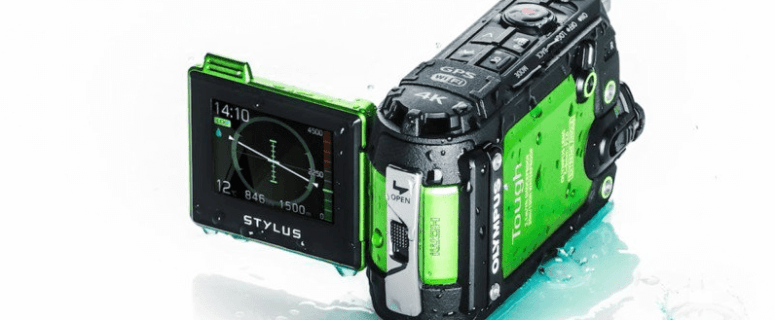 Olympus TG-Tracker Manual User Guide and Detail Specification