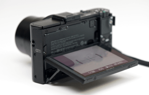 Sony DSC-RX100M2 Manual (camera backside)