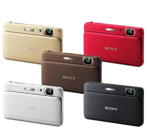 Sony DSC-TX55 Manual for Sony's Even Slimmer Cyber-Shot Compact