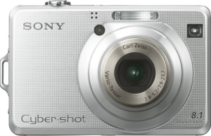 Sony DSC-W100 Manual User Guide and Product Specification
