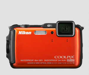 Nikon CoolPix AW120 Manual - camera front side