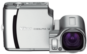 Nikon CoolPix S4 Manual - camera front side