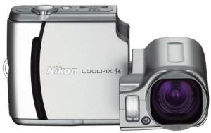 Nikon CoolPix S4 Manual - camera front side