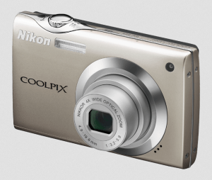 Nikon CoolPix S4000 Manual - Camera Front Side