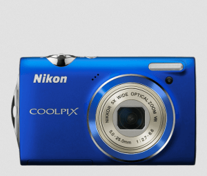 Nikon CoolPix S5100 Manual-camera front side
