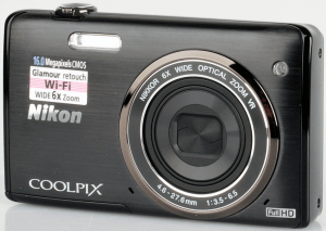 Nikon CoolPix S5200 Manual - camera front side