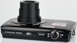 Nikon CoolPix S5200 Manual - camera side