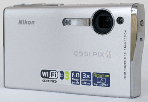 Nikon CoolPix S6 Manual - camera front side