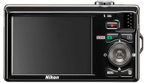 Nikon CoolPix S6000 Manual - Camera back side