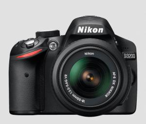 Nikon D3200 Manual-camera front side