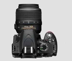 Nikon D3200 Manual-camera up-side