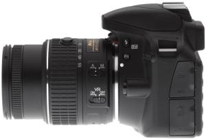 Nikon D3300 Manual-camera side