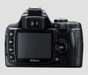 Nikon D40X Manual (camera backside)