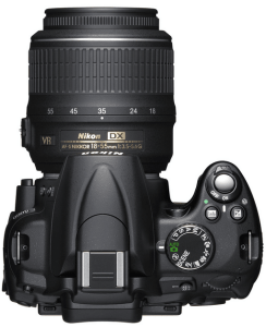 Nikon D5000 Manual (camera top side)