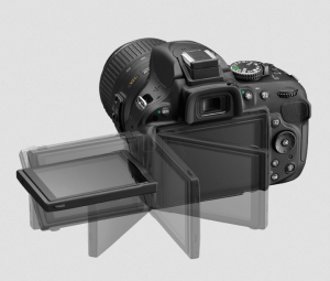 Nikon D5200 Manual (tilted screen)