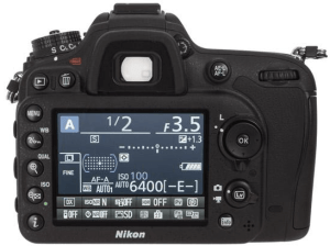 Nikon D7100 Manual (camera back side)