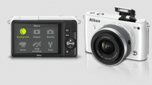 Nikon S1 Manual - Camera front and back side