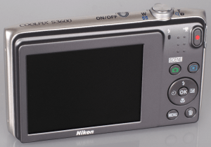 Nikon S3600 Manual - camera backside