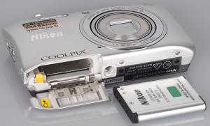 Nikon S3600 Manual - Camera front side