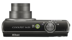 Nikon S620 Manual - camera side