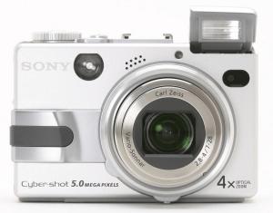 Sony DSC-V1 Manual- camera front body