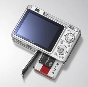 Sony DSC-W130 Manual (camera backside)