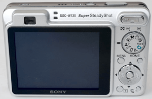 Sony DSC-W130 Manual for Sony's Ultimate Compact