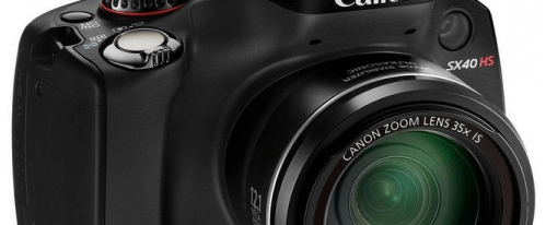 Canon PowerShot SX40 HS Manual User Guide and Specification
