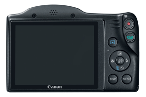 Canon PowerShot SX400 IS Manual - camera back side