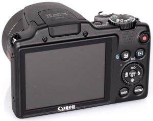 Canon PowerShot SX510 HS Manual - camera back side