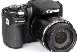 Canon PowerShot SX510 HS Manual - camera front face