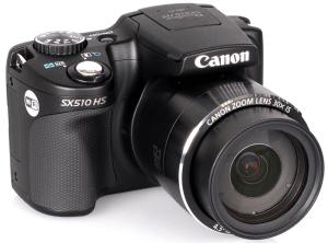 Canon PowerShot SX510 HS Manual - camera front face