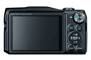 Canon PowerShot SX700 HS Manual - camera back side