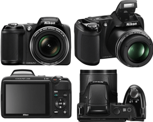 Nikon CoolPix L320 Manual - camera sides