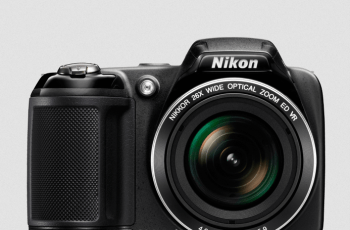 Nikon CoolPix L340 Manual - camera front face