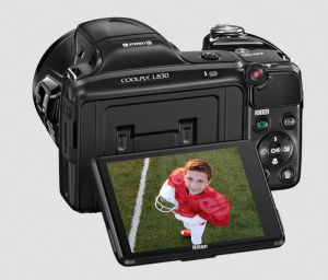 Nikon CoolPix L830 Manual - camera back side